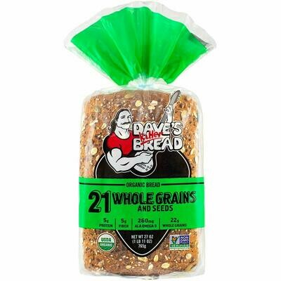 Bread / Sliced / Dave's 21 Whole Grains