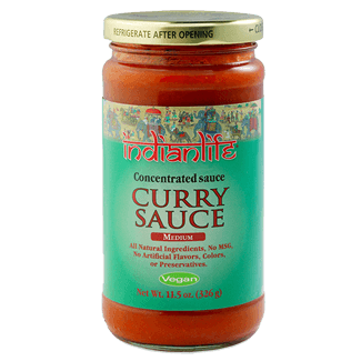 Grocery / International / Indian Life Curry Sauce, 11.5oz