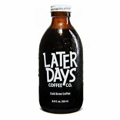 Beverage / Coffee & Tea / Later Days Cold Brew Coffee, 8.5 oz