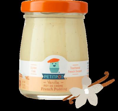 Dairy / Petit Pot Vanilla Bean Organic French Pudding, 3.5 oz