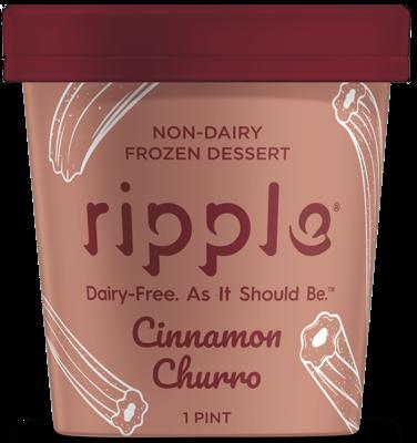 Frozen / Ice Cream Pint / Ripple Non-Dairy Cinnamon Churro