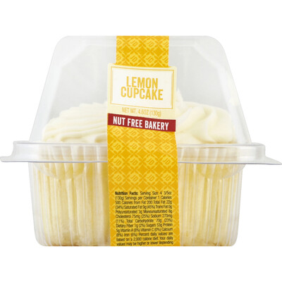 Grab and Go / Dessert / Just Desserts Cupcake, Lemon