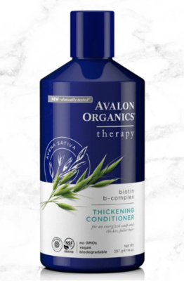 Health and Beauty / Beauty / Avalon Biotin B-Complex Thickening Conditioner, 14 oz
