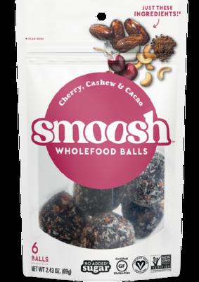 Snack / Bar / Smoosh Cherry Cashew Wholefood Balls, 2.43 oz