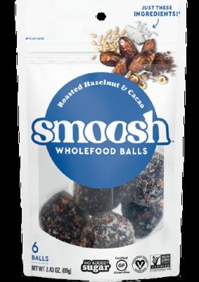 Snack / Bar / Smoosh Roasted Hazelnut Wholefood Balls, 2.43 oz
