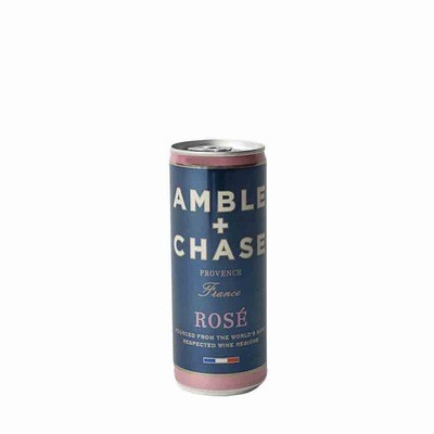 Wine / Rose / Amble & Chase Rose - Single, 250 ml