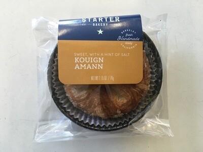 Starter Bakery Kouign Aman