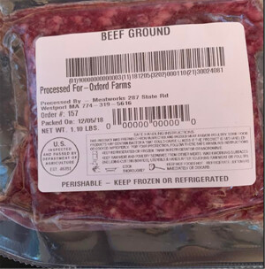 Local Grass-Fed and Finished Ground Beef