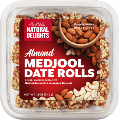 ALMOND MEDJOOL DATES ROLLS