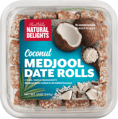 COCONUT MEDJOOL DATES ROLLS