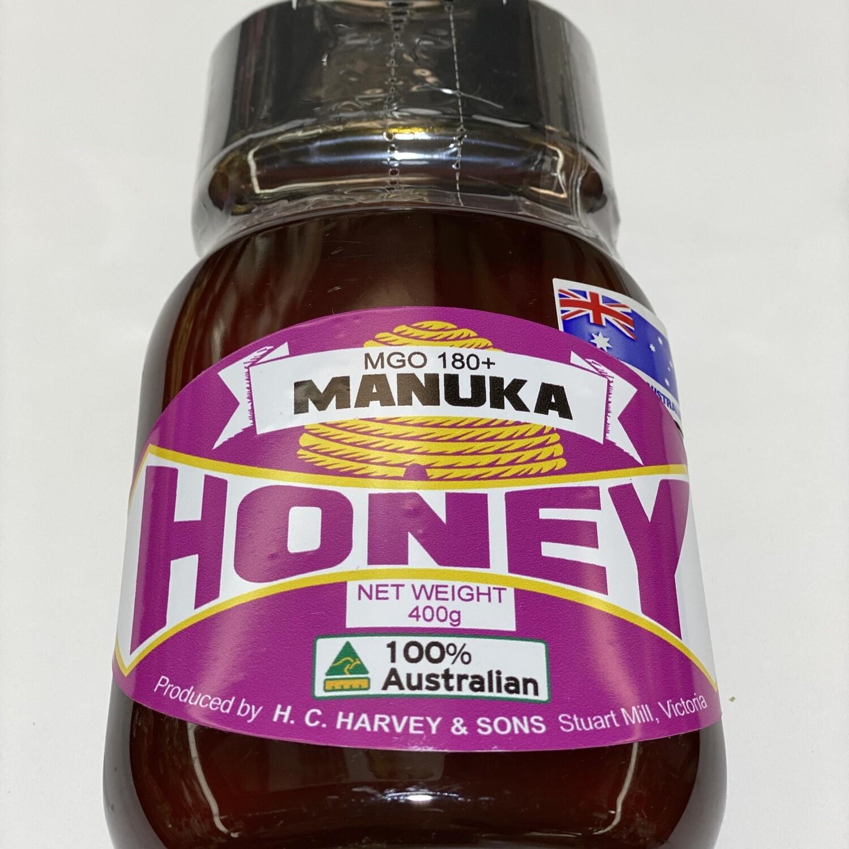 HONEY - MANUKA MGO 180+ (400G SQUEEZE)