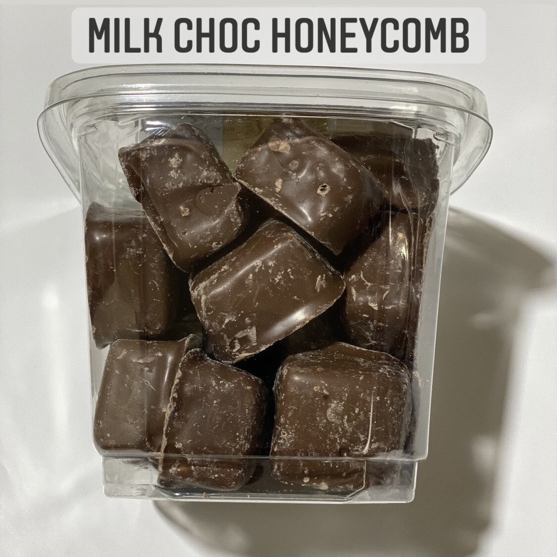 NEW - MILK CHOC HONEYCOMB