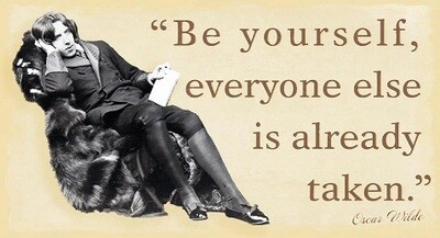 Be Yourself Pin Up