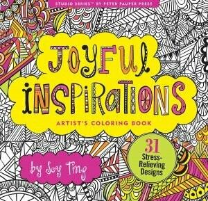 Joyful Inspiration Colouring Book