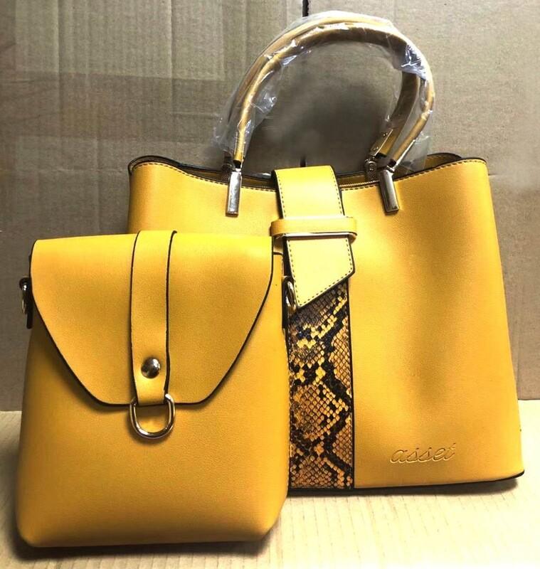 Asset Sahara Mustard Handbag