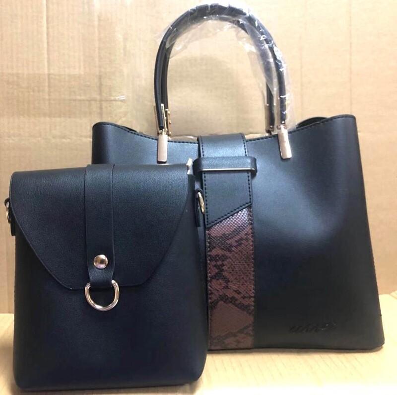 Asset Sahara Black Handbag