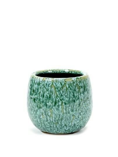 POT SEAGRASS GREEN D13 H11,5 CM