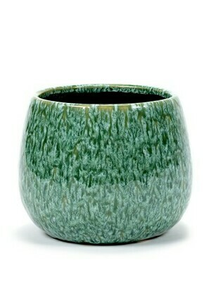 POT SEAGRASS GREEN D17,5 H14,5 CM