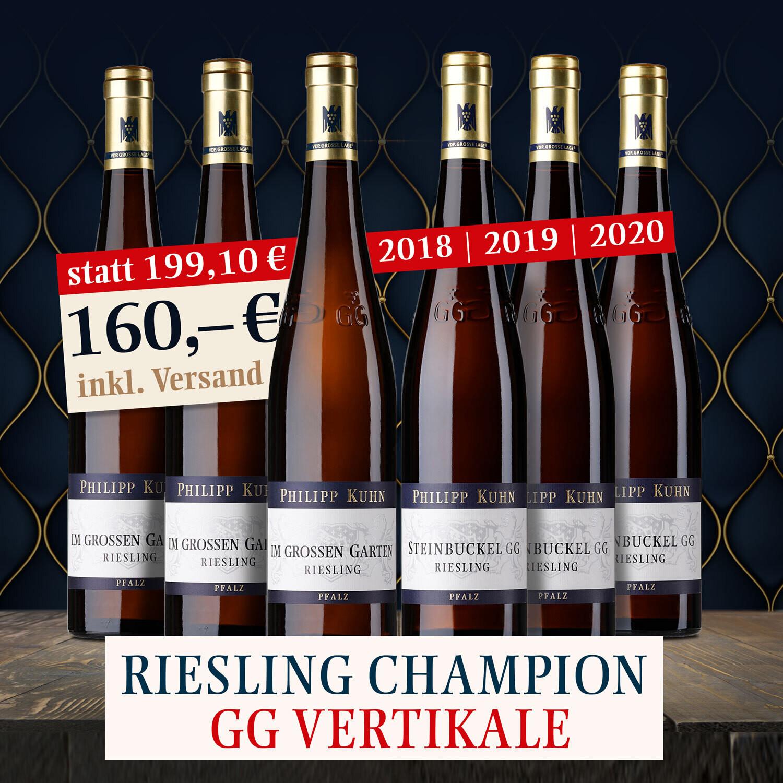 Riesling Champion GG Vertikale