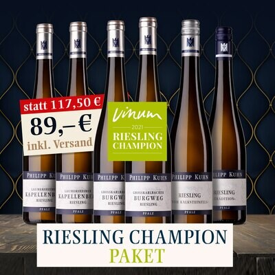 Paket Riesling Champion