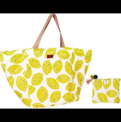 Großer Shopper Zitrone