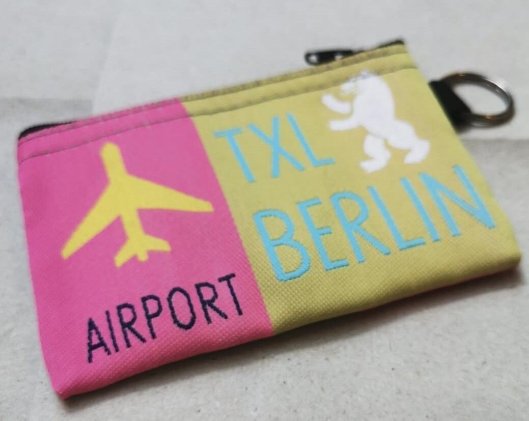 Erinnerung an den Flughafen Tegel - Täschchen