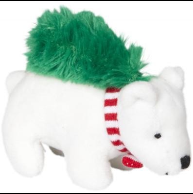 Eisbär zum Aufziehen Fröhliche Weihnachten!