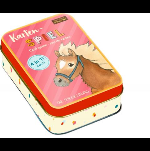 Kartenspiel 4 in 1 Mein kleiner Ponyhof