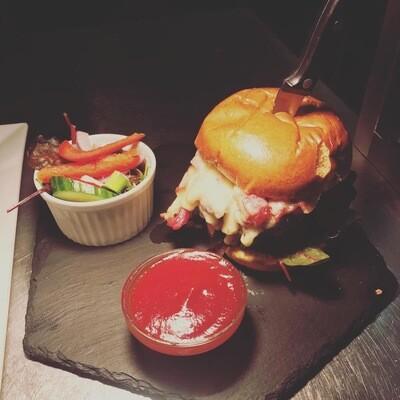 White Hart Burger