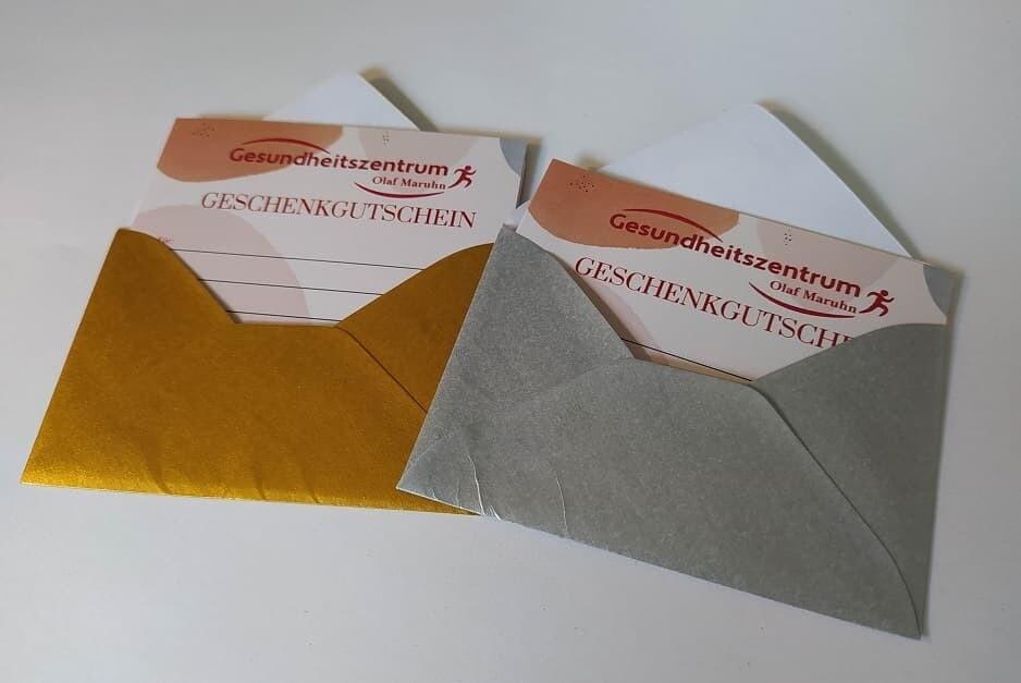 Geschenk-Gutschein - Gold