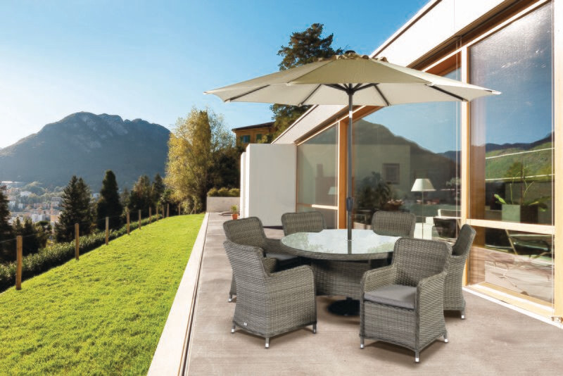 TUSCANY 140CM ROUND 6 SEAT SET BUY ONLINE NOW TO SECURE YOUR PURCHASE. THIS PRODUCT WAS IN HIGH DEMAND LAST YEAR. AVAILABLE FOR DELIVERY OF COLLECTION FROM APRIL 2021