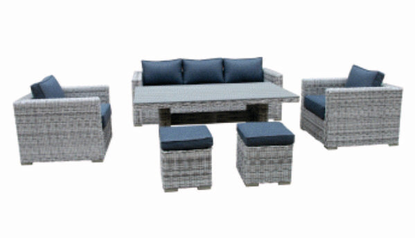 Porto Lounge Dining Set BUY ONLINE NOW TO SECURE YOUR PURCHASE. THIS PRODUCT WAS IN HIGH DEMAND LAST YEAR. AVAILABLE FOR DELIVERY OF COLLECTION FROM APRIL 2021