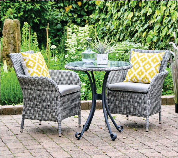 MONACO BISTRO SET BUY ONLINE NOW TO SECURE YOUR PURCHASE. THIS PRODUCT WAS IN HIGH DEMAND LAST YEAR. AVAILABLE FOR DELIVERY OF COLLECTION FROM APRIL 2021