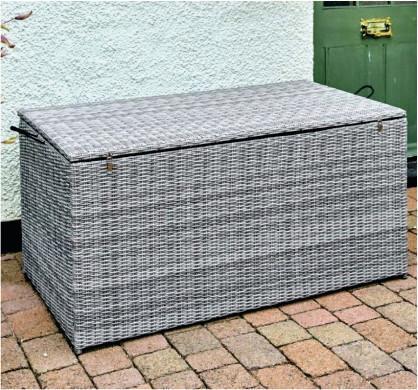 Monaco Stone Cushion Storage Box