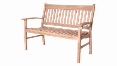 Hanoi 2 Seater Slatted Bench Was £199 Now £99.50)