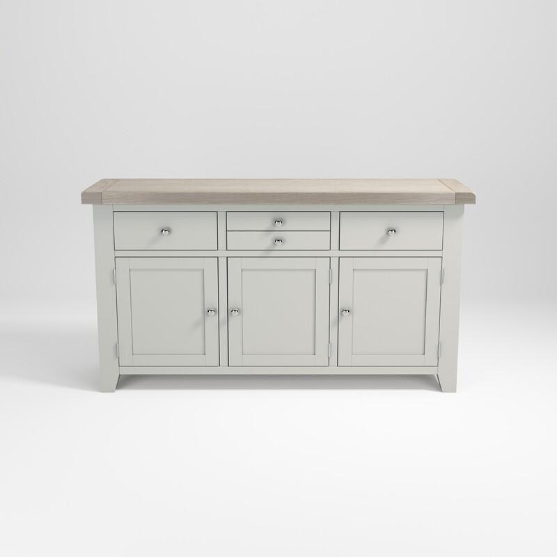 Sideboard 3 door 3 drawer large