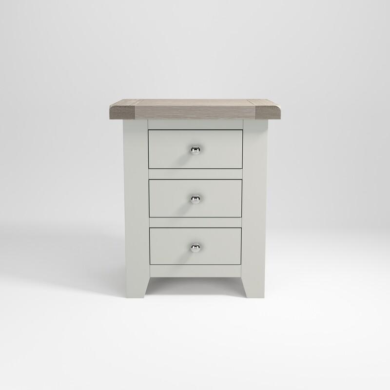 Bedside 3 drawer