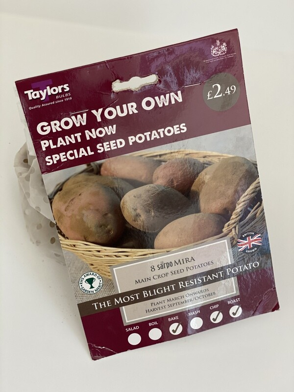 Seed Potatoes - Taster Pack