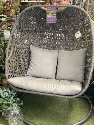 Tuscany Deluxe Double Hanging Egg Chair