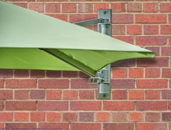 Wall Mounted Parasol Was £100 Now £50 BUY ONLINE NOW TO SECURE YOUR PURCHASE. THIS PRODUCT WAS IN HIGH DEMAND LAST YEAR. AVAILABLE FOR DELIVERY OF COLLECTION FROM APRIL 2021