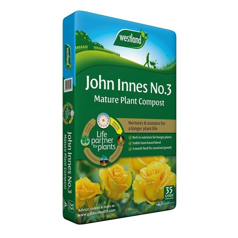 John Innes No 3 Mature Plant Compost  35L
