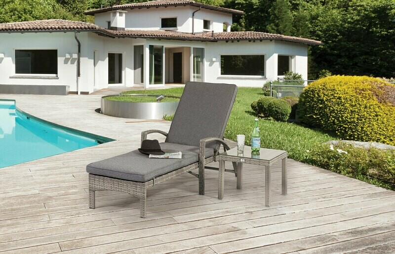 BARCELONA LOUNGER AND SIDE TABLE BUY ONLINE NOW TO SECURE YOUR PURCHASE. THIS PRODUCT WAS IN HIGH DEMAND LAST YEAR. AVAILABLE FOR DELIVERY OF COLLECTION FROM APRIL 2021