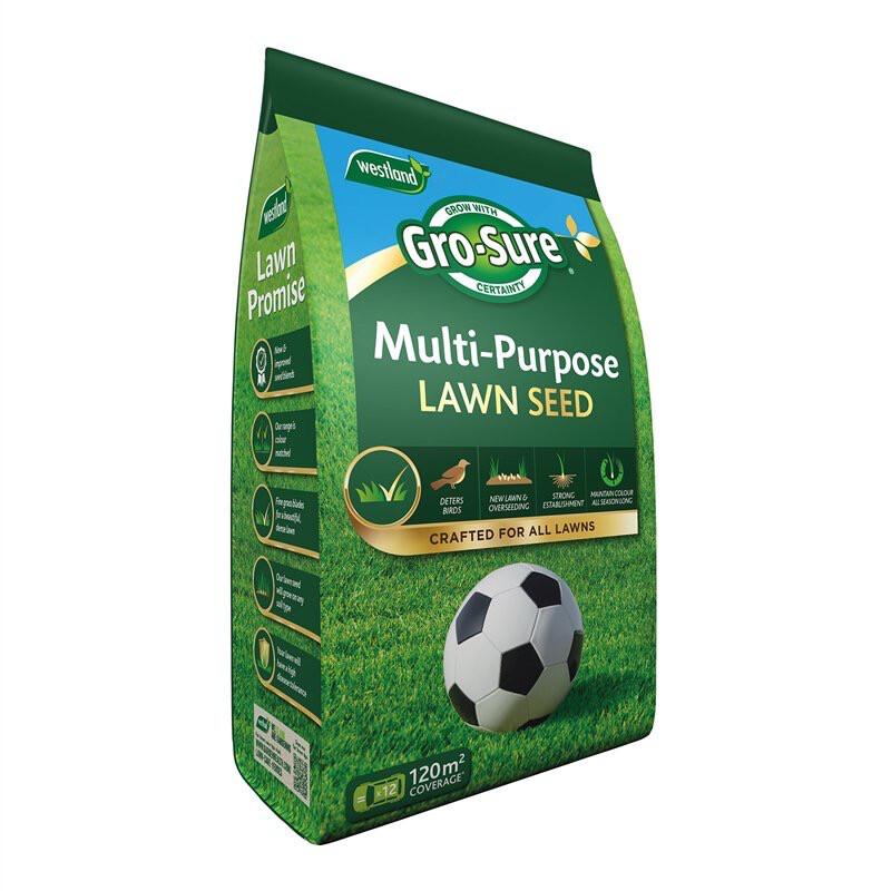 Westland Multi Purpose Lawn Seed 3.6Kg.