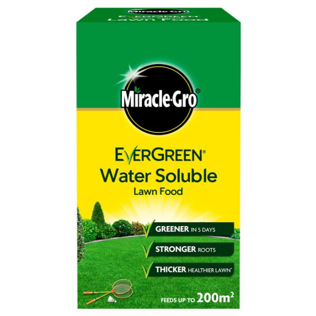 Miracle Gro Lawn Food Soluble