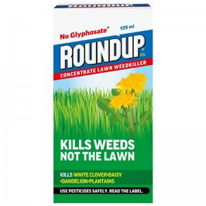 Round Up Concentrate Lawn Weedkiller 190ml.