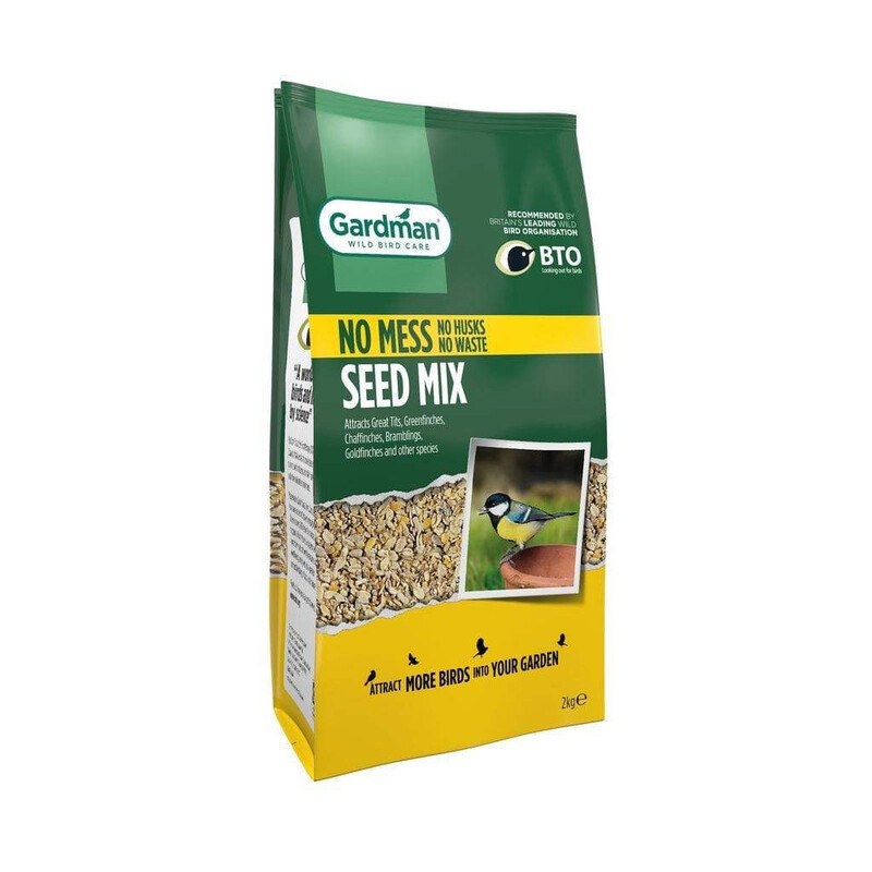 Bird Seed Mix 2kg, No Mess
