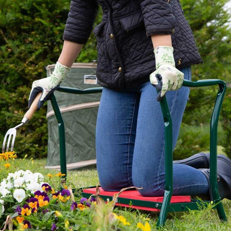 Gardeners 2-in-1 Kneeler And Stool