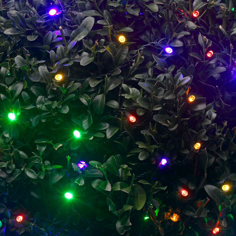 Solar String Lights 200 LED Multicoloured