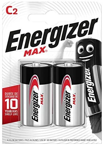 Energizer C Batteries - Twin Pack