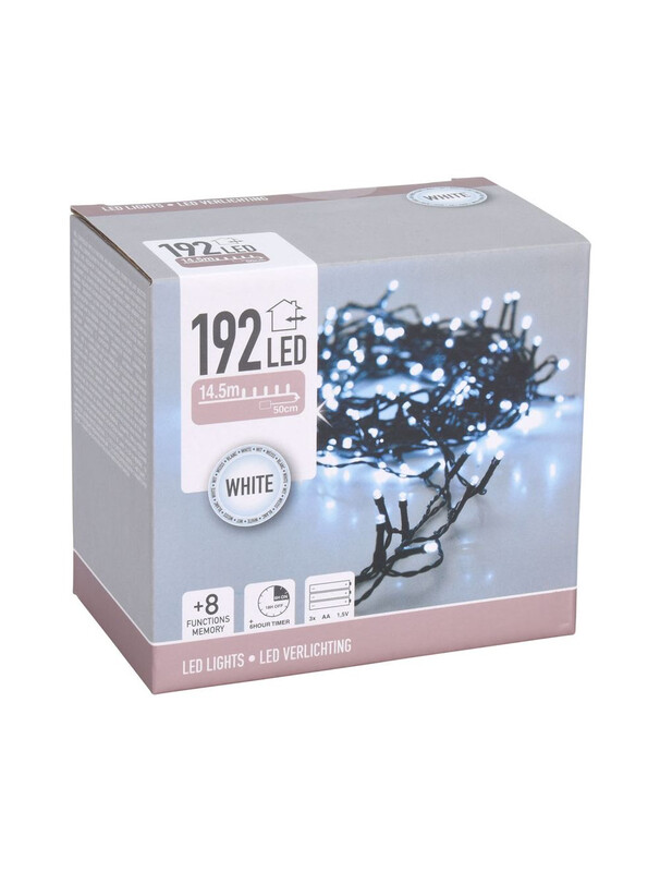 Lights 192 White LED (Battery Operated)